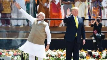¿Qué busca Trump en India?