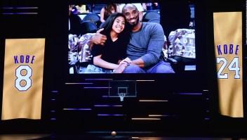 Así fue el emotivo homenaje a Kobe y Gigi Bryant