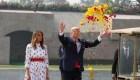 Entre elogios y protestas, la visita de Trump a la India