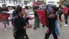 Mujeres en Oaxaca aprenden defensa personal