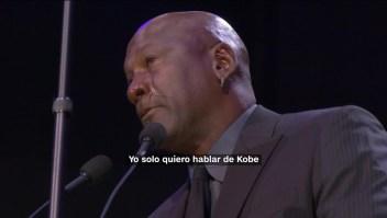 """Michael Jordan sobre Kobe: """"Éramos amigos, era mi hermano"""""""