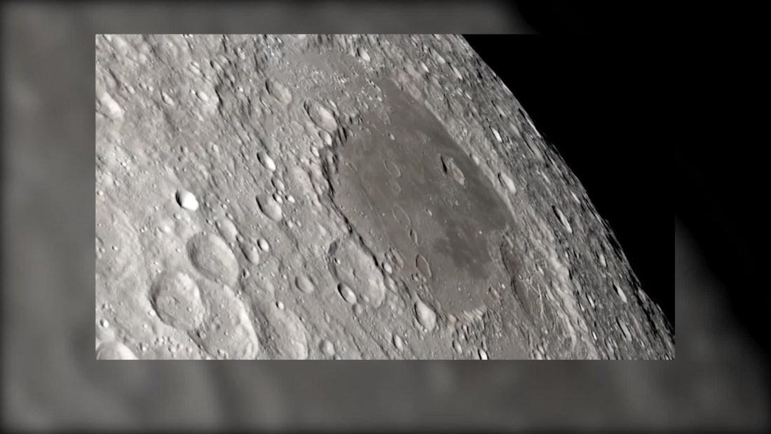 Cómo se ve el lado oscuro de la Luna