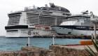 Crucero errante atraca en Cozumel
