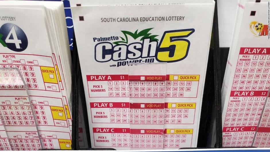 Un hombre de Carolina del Sur casi tiró un billete de lotería ganador de $ 100.000 a la basura