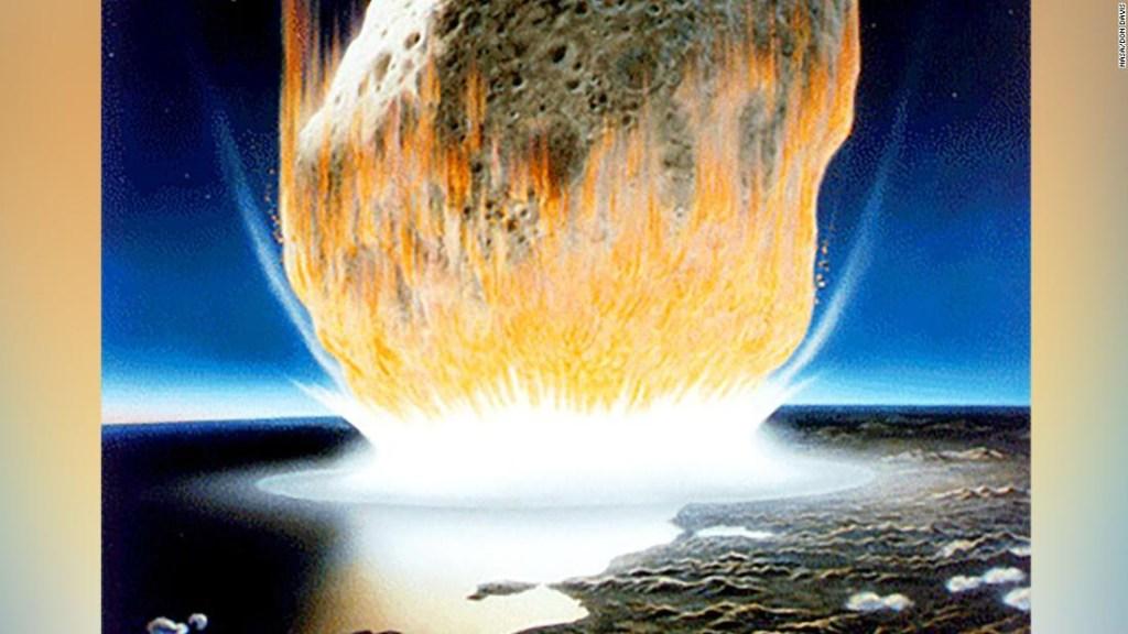 Asteroide dinosaurios bacteria
