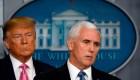 Trump pone a Pence a cargo de equipo contra coronavirus