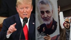 SOTU: Trump destaca ataque que mató a Soleimani