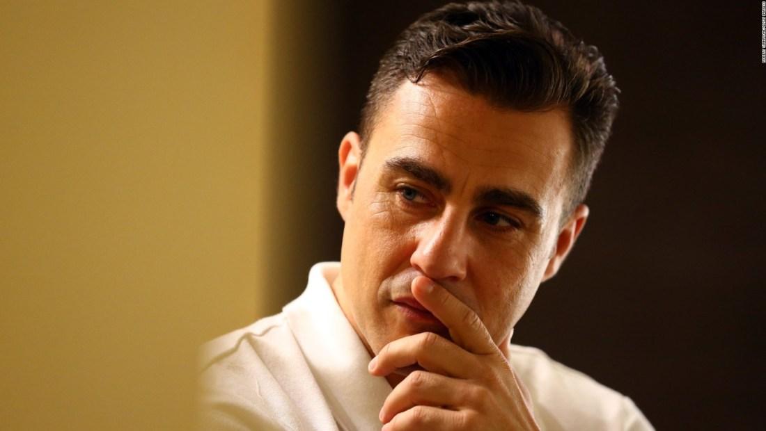 Así vive Fabio Cannavaro la cuarentena en China