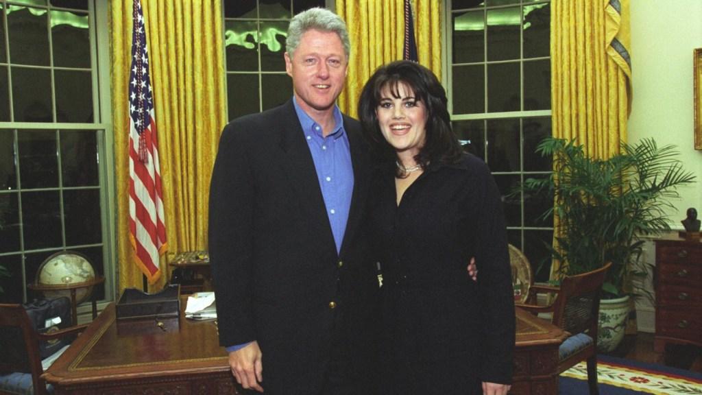Bill Clinton habla de Lewinsky en la serie 'Hillary'