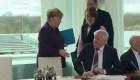 Rezhazan sadudo de Merkel por brote de coronavirus