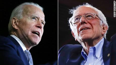 Biden aumenta ventaja sobre Sanders en nuevo sondeo
