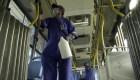 Precaución en el transporte público para prevenir el COVID-19