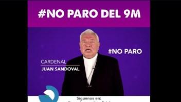 Cardenal de Guadalajara pide a las mujeres no ir al paro del 9M