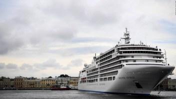 Otro crucero en cuarentena por coronavirus