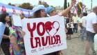 Argentinos marchan en contra del aborto en el Día Internacional de la Mujer