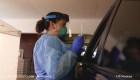Este hospital hace pruebas de coronavirus desde los autos