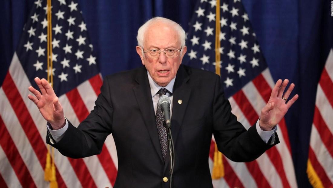 Pese a las derrotas, Sanders se mantiene su candidatura
