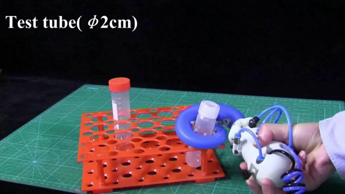 Desarrollan un robot con tentáculos