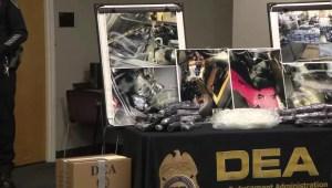 Arrestan en California a 700 personas vinculadas al narcotráfico