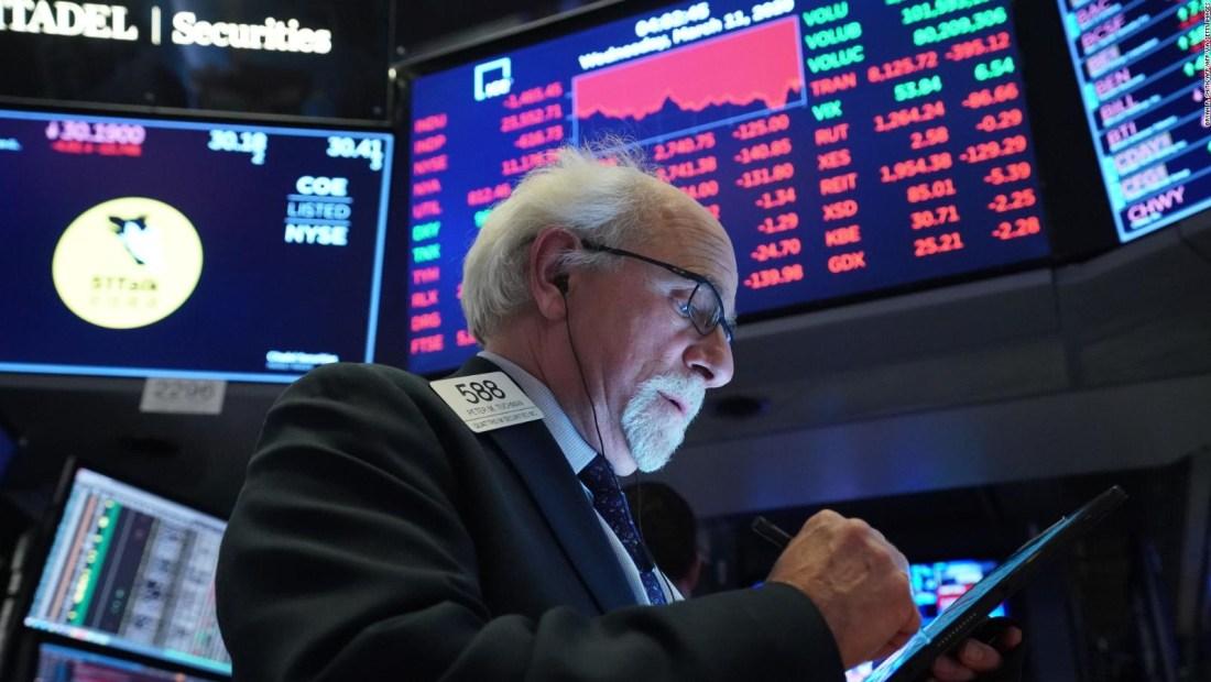 El índice Dow Jones entra en un mercado bajista