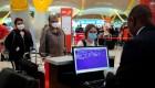 Poca actividad en el aeropuerto Madrid-Barajas