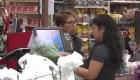 Así de ve un mercado en Atlanta por el coronavirus