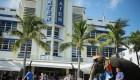 La avenida Ocean Drive de Miami Beach: otro ícono afectado por el coronavirus