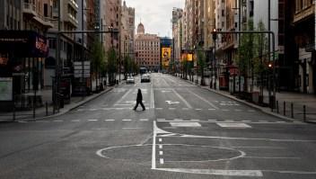 Madrid, vacía tras declararse el estado de alarma