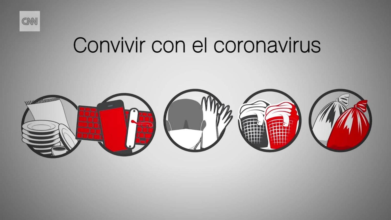Cómo convivir con una persona con coronavirus