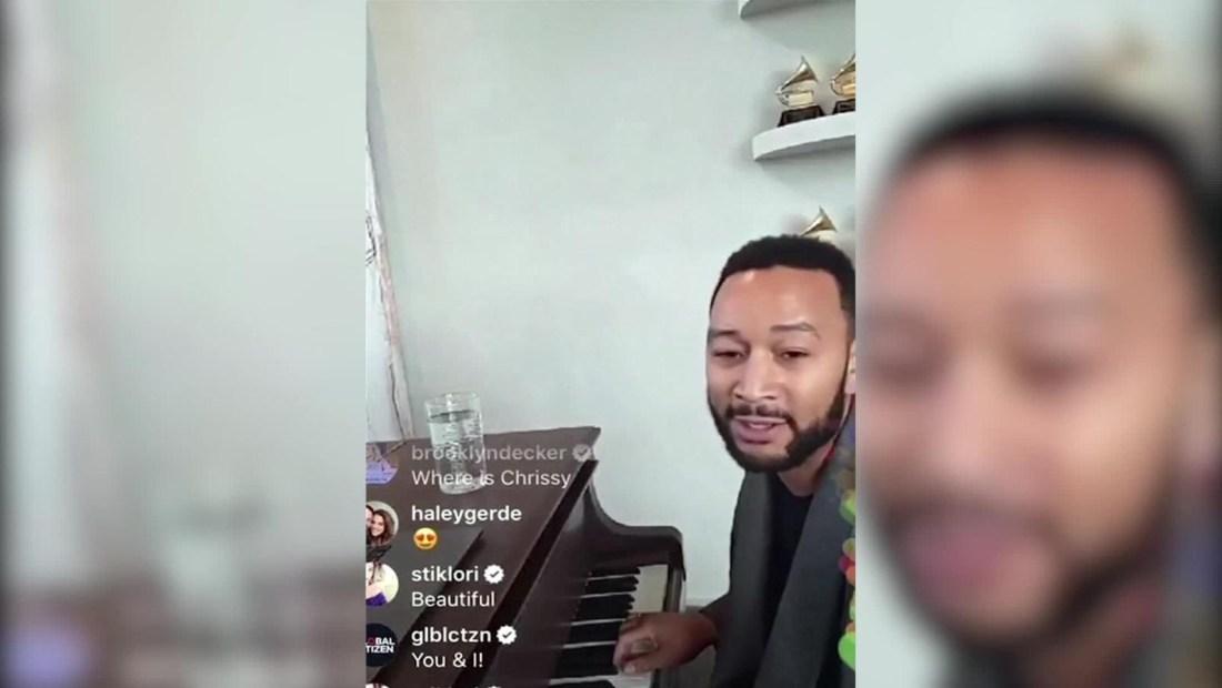 John Legend da concierto por Instagram para los que están cuarentena