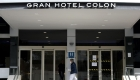 Hoteles madrileños reciben contagiados por el covid-19