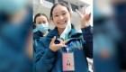Médicos de Wuhan, China, le dicen adiós a las mascarillas