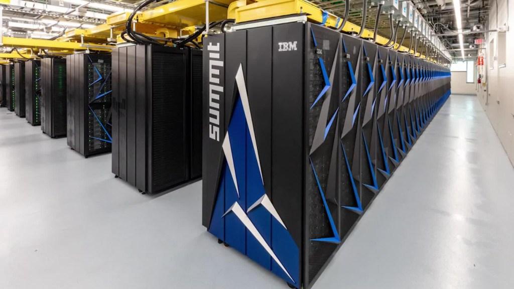 Esta supercomputadora se suma a la lucha contra el coronavirus