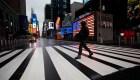 Drones capturan imágenes de calles desoladas en EE.UU.