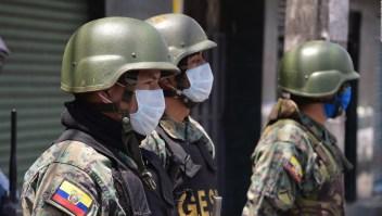 Ecuador enfrenta un incremento de muertos por coronavirus