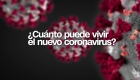 En estas superficies el coronavirus puede vivir hasta días