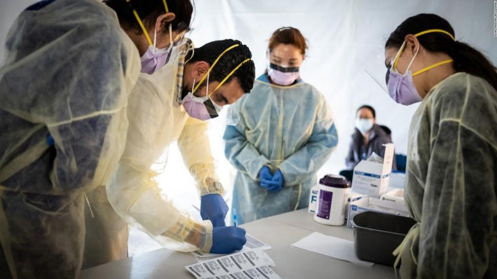 Los trabajadores de la salud ante la pandemia de covid-19