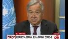 Guterres pide apoyo a plan de asistencia humanitaria de la ONU