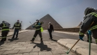 Egipto desinfecta las pirámides por temor al coronavirus