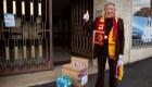 Coronavirus: la Roma ayuda a socios de más de 75 años