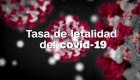 Tasa de letalidad del coronavirus en China, Italia, España, EE.UU. y Argentina