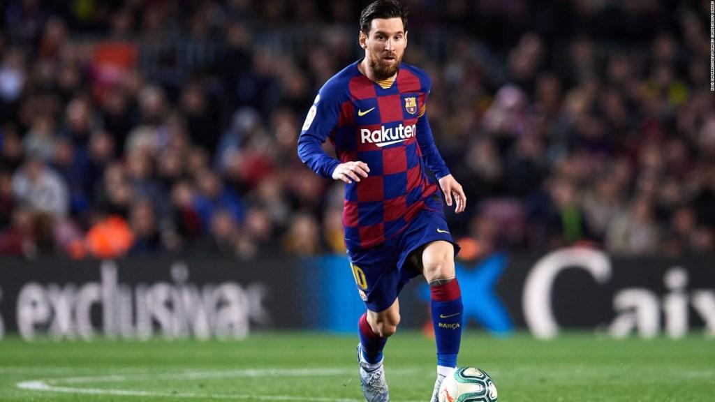Messi y sus compañeros del Barcelona se rebajan el salario