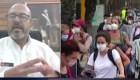 """Zamora: """"Hemos implementado medidas sociales y sanitarias"""""""