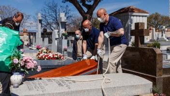 Abrumadoras cifras de covid-19 en España y luto oficial en Madrid