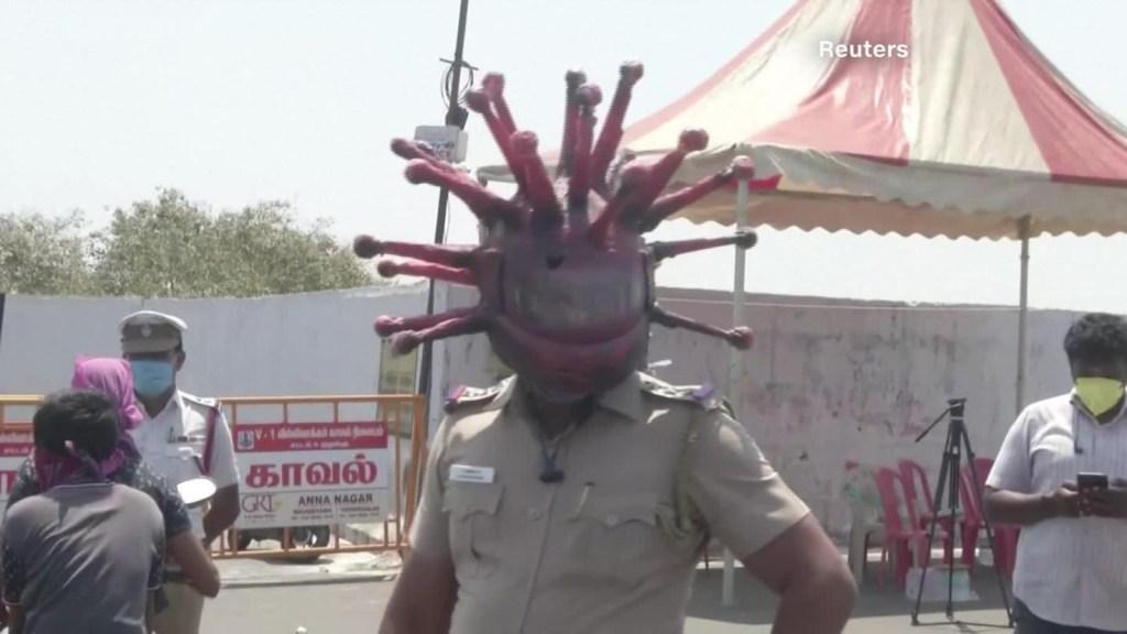 Así intenta la India contener el nuevo coronavirus