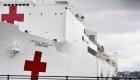 Esto dijo un médico que estuvo en el buque hospital másgrande del mundo