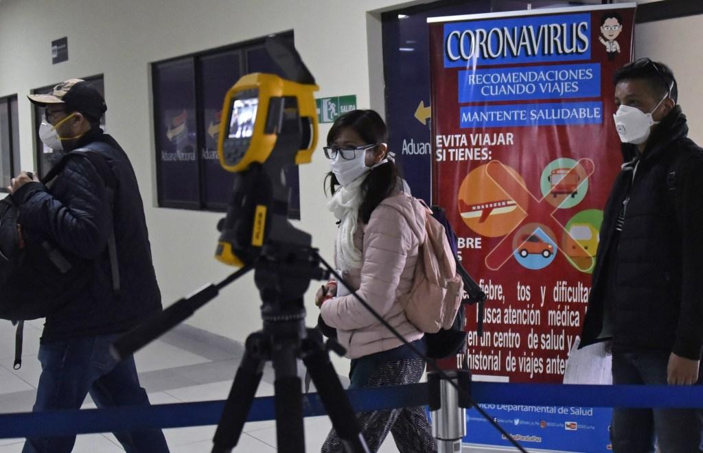 coronavirus bolivia