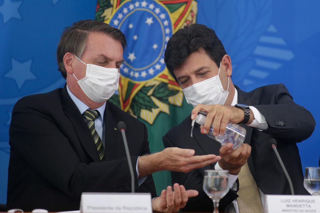 Bolsonaro-Luiz Mandetta-Brasil-covid-19