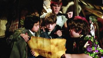 """Los """"Goonies"""" y Steven Spielberg, reunidos a la distancia"""
