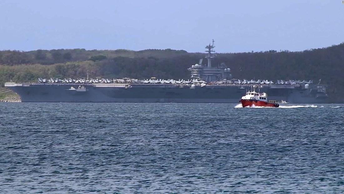 Murió un marinero del USS Roosevelt por covid-19